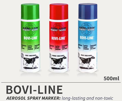 BOVI-LINE aerosol cattle marker